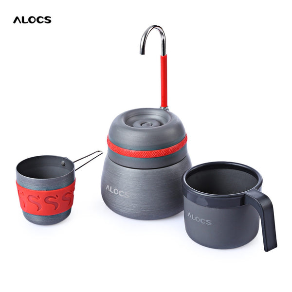 ALOCS CW - EM01 Outdoor Camping Aluminum Alloy Thermal Coffee Stove For Outdoor Camping Hiking Fishing