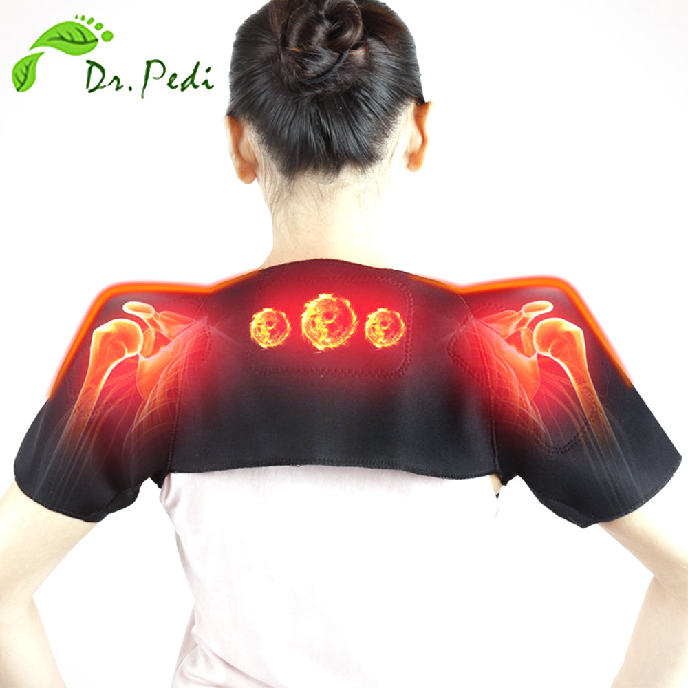 Magnetic and Far Infrared Therapy for shoulders,Cotton Swabs,Life Tech ,LifeTech Peru