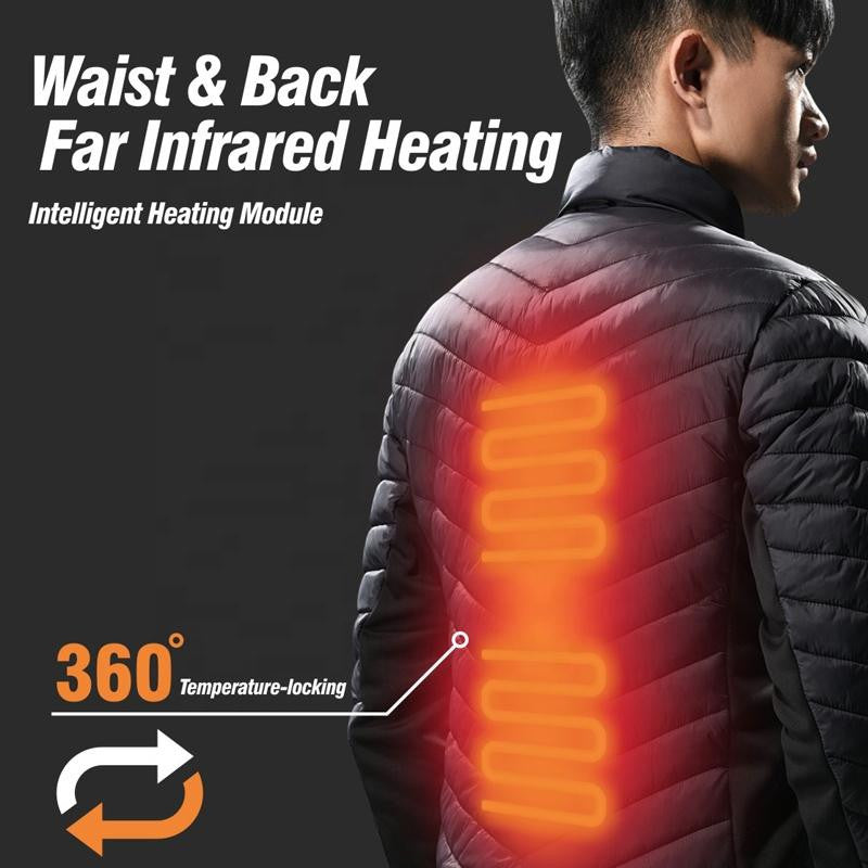 HUMBGO HEATED JACKET WITH CARBON FIBER,,LIFETECH PERU,LifeTech Peru