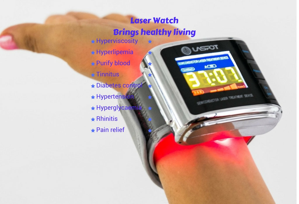 LASER WATCH - THERAPY WATCH (10 LASER BEAMS) - LIFETECH PERU