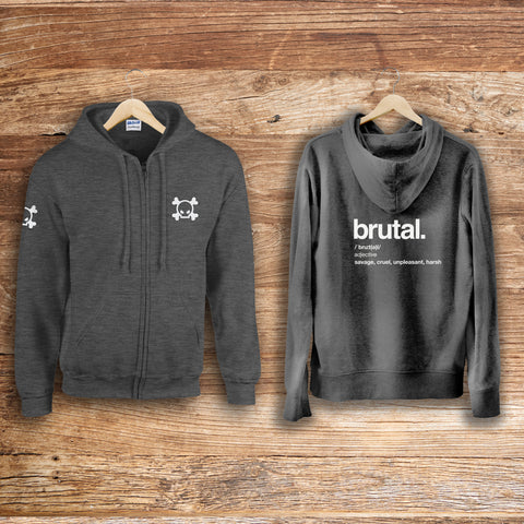 Brutal Definition Zip Up
