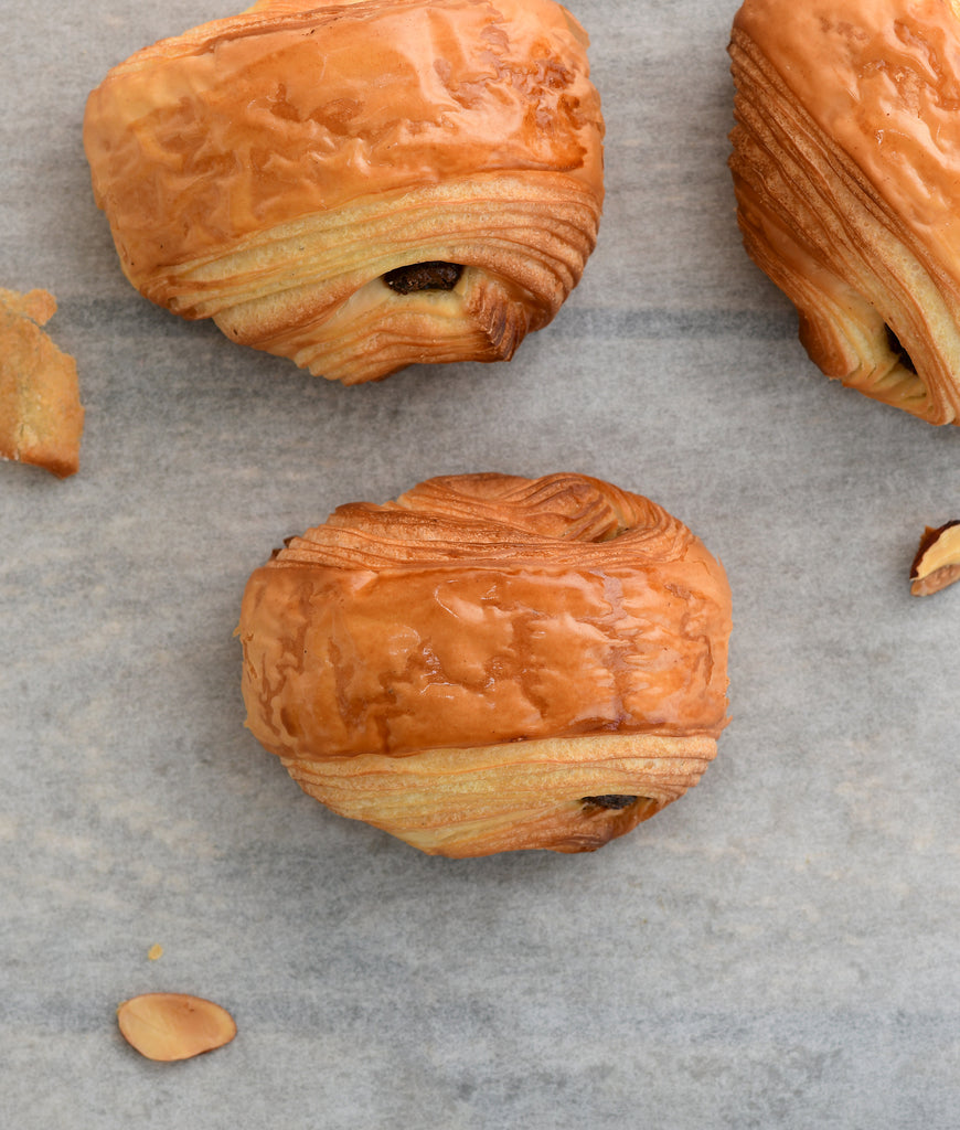 Mini croissants assortment Box