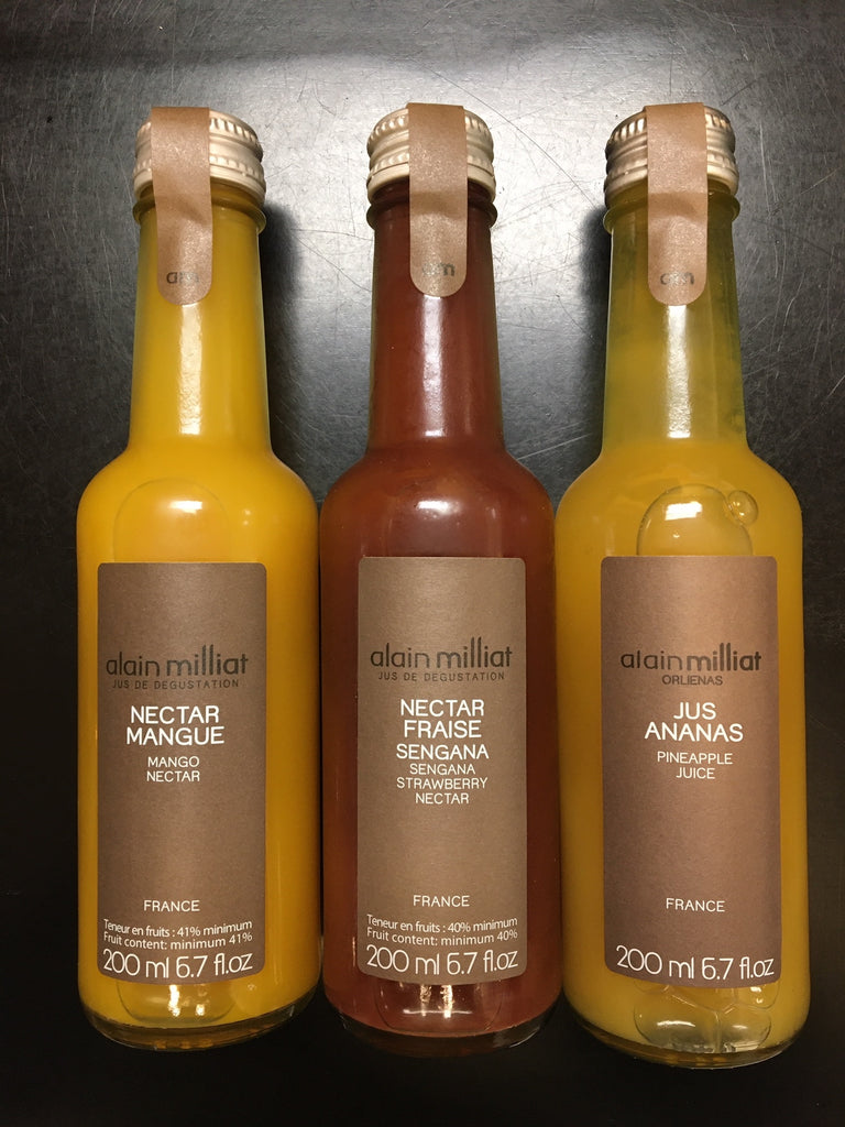 Organic exquisite juices Alain Milliat