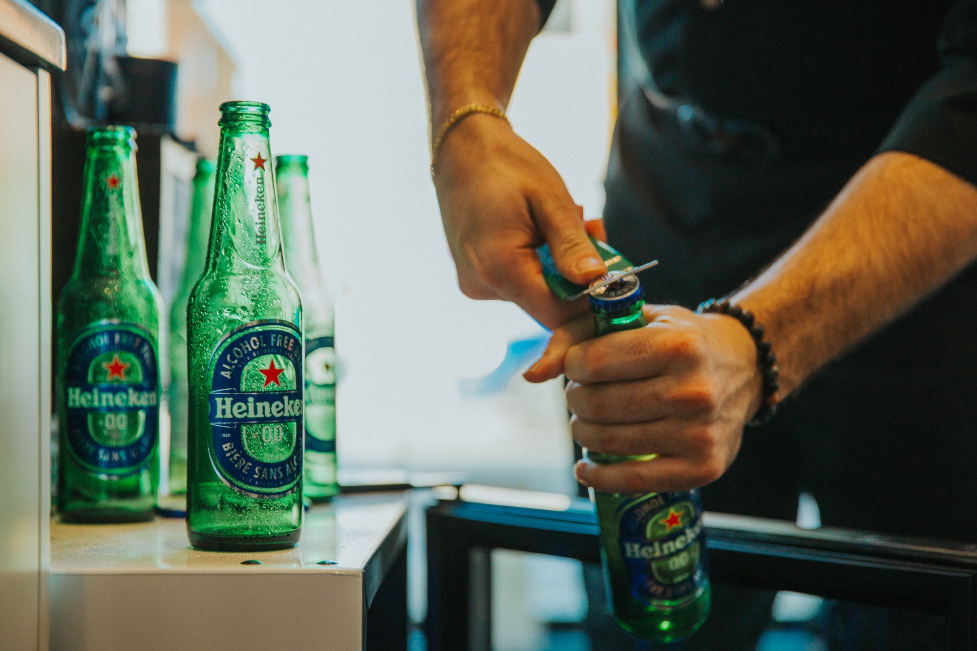 Heineken partners up with Fade Room Barbershop
