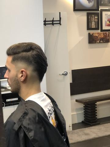 TFC Player Franco Ramos Gets His Haircut At Fade Room