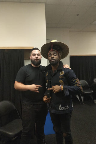 Earthgang with Nelson Pires at the Kod Tour in Toronto, Ontario Fade Room Barbershop