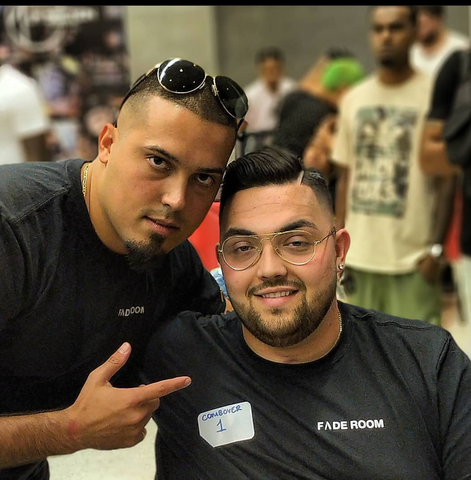 Claudio the barber with Anthony Simas - Combover haircut barber battle - Fade Room - Toronto, Canada