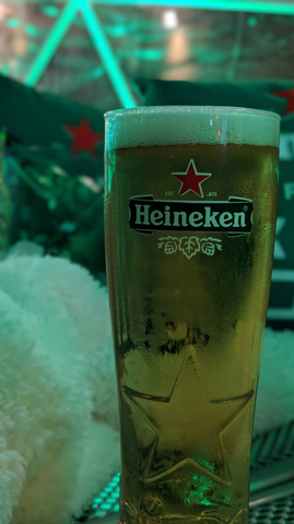 Heineken Igloo booth at The Fifth Downtown Toronto with Fade Room barbershop