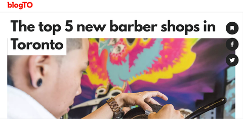 Top 5 new barbershops in Toronto - Fade Room