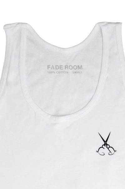 Fade Room - White Tank Top