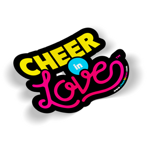 Cheer In Love™ Logo Sticker