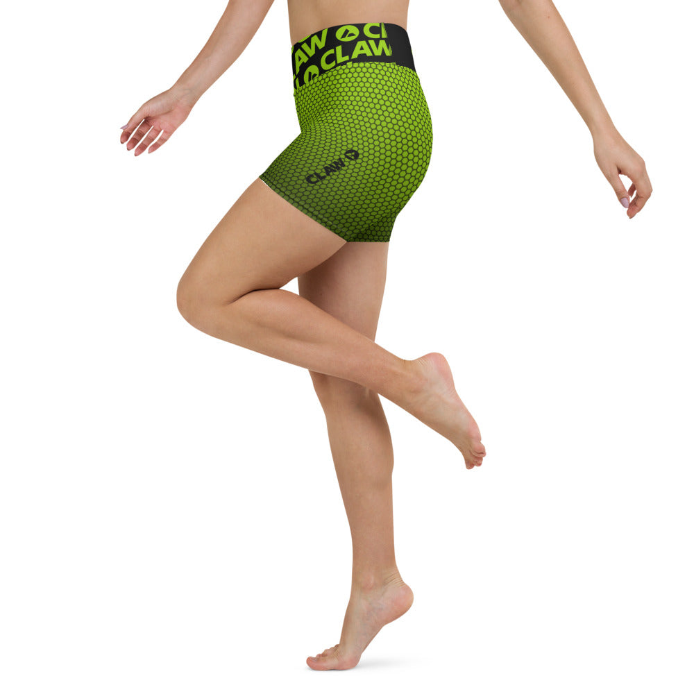 Apex Green Yoga Shorts