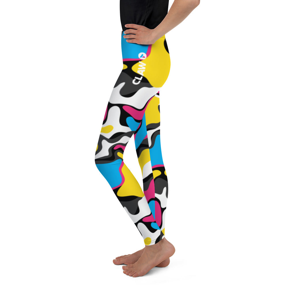 Tri-Camo Youth Leggings