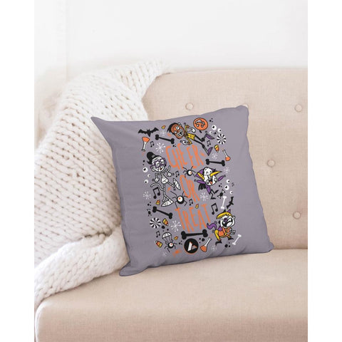 "Cheer or Treat Throw Pillow Case 18""x18"""
