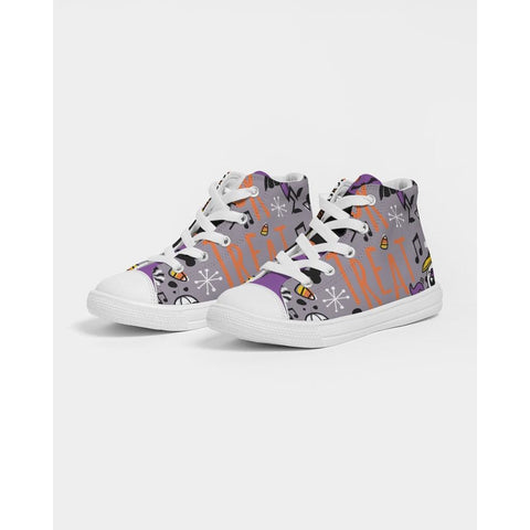 Cheer or Treat Kids Hightop Canvas Shoe