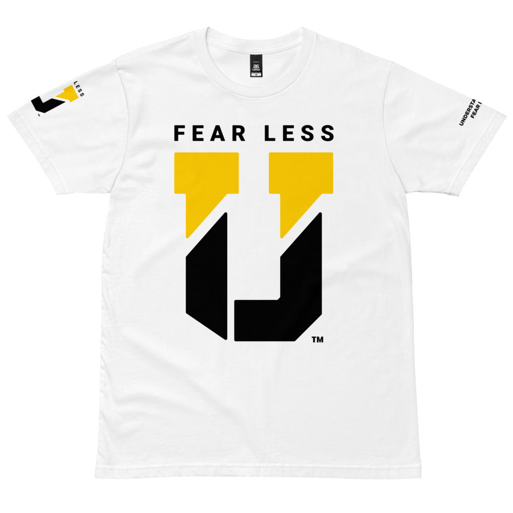 Fear Less U™ Show Tee (White)