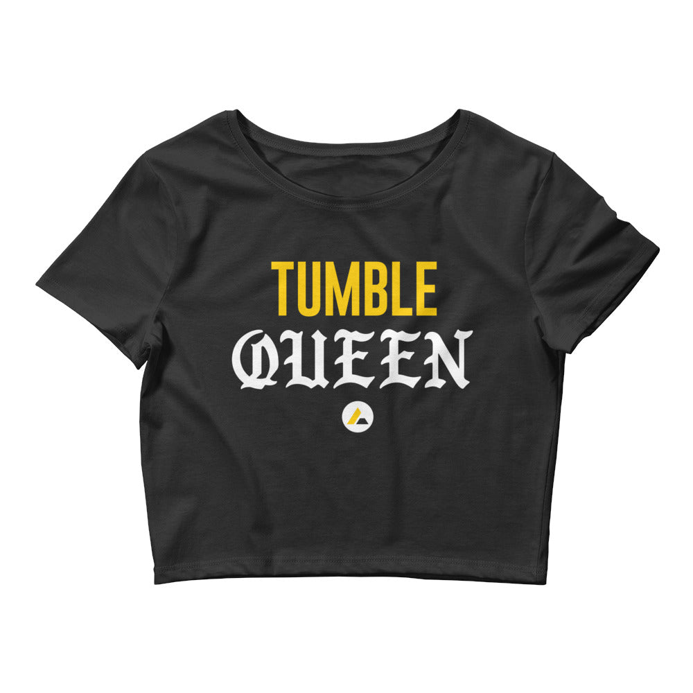 Tumble Queen Cropped Tee