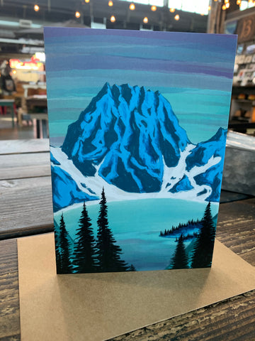 Colchuck Lake Greeting Card