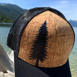 Black Pine Tree Hat