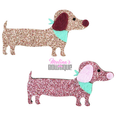 Doggy Glitter Clips