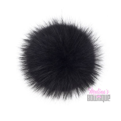"Interchangeable 6"" Fur Poms"