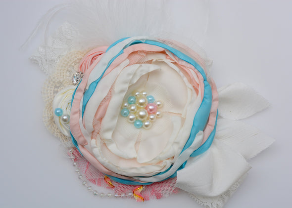 Ivory Carnival Couture Headband