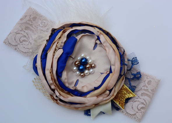 Royal Carnival Couture Headband