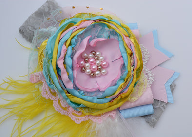 Yellow Carnival Couture Headband