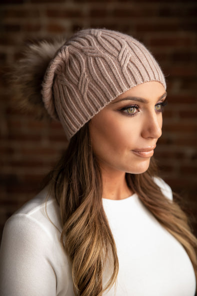 Blush Cashmere Slouch