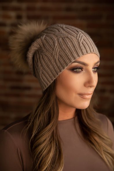 Cappuccino Cashmere Slouch