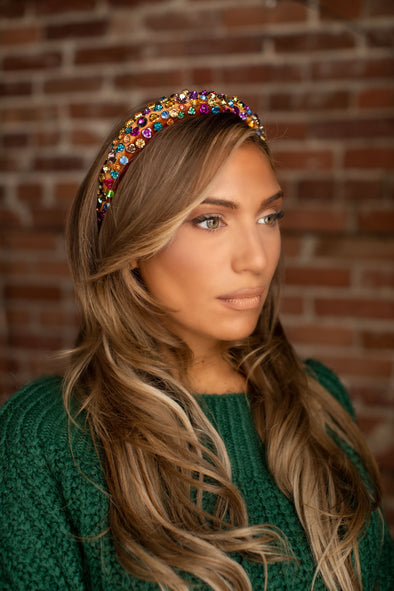 Velvet Confetti Headbands