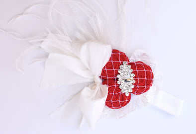 Red Brynn Couture Headband
