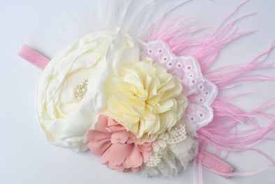 Ivory Fairytale Couture Headband