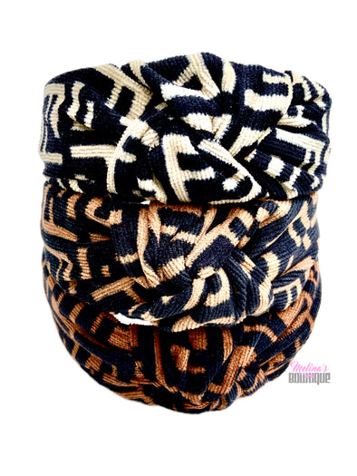 Designer FF Topknot Headbands
