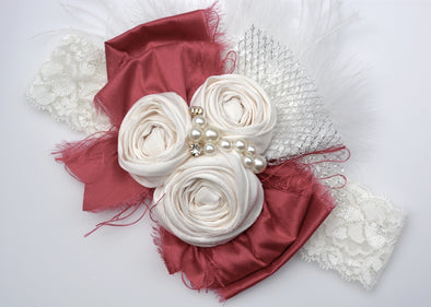 Pink Grace Couture Headband