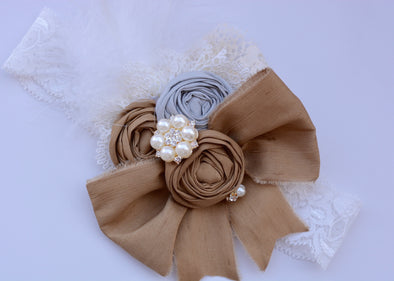 Olive Grace Couture Headband