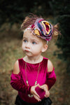 Navy Carnival Couture Headband