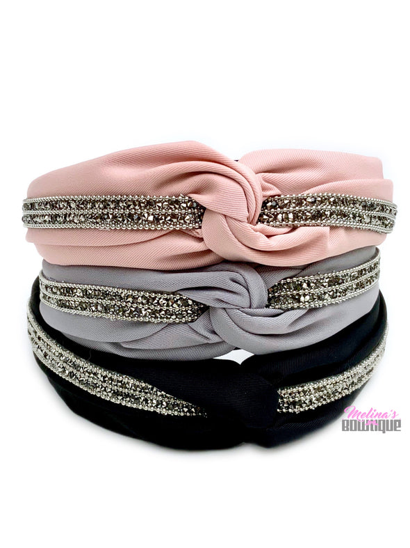 Sparkly Topknot Headbands