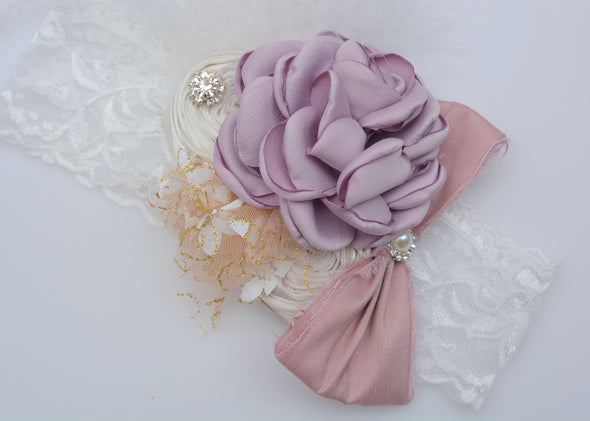 Lavender Isabelle Couture Headband