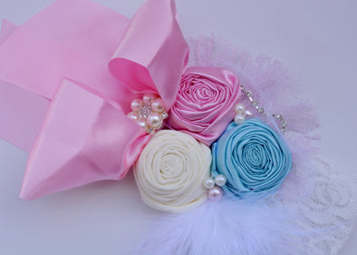 Pink Magnolia Couture Headband