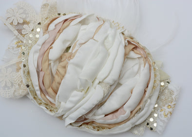 Gold Rosalia Couture Headband