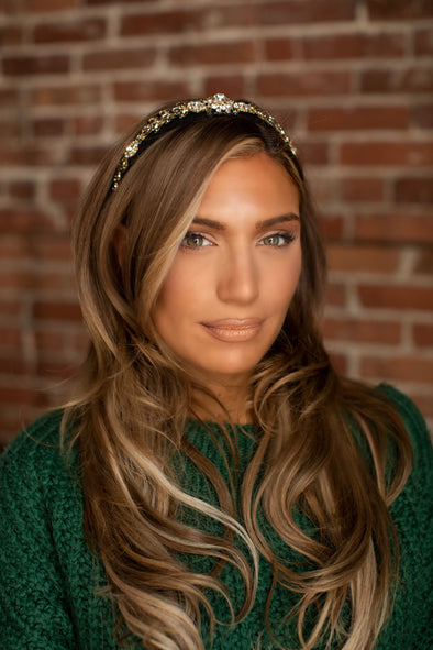 Regal Rhinestone Headbands