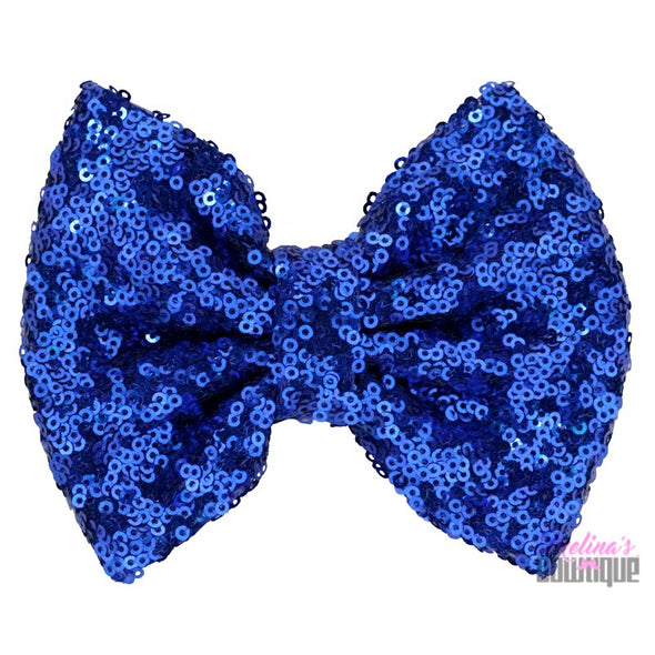 Royal Sequin Bows
