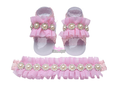 Pink Crystal Tootsie Sets