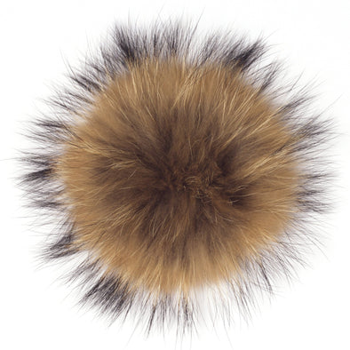 Interchangeable Fur Poms