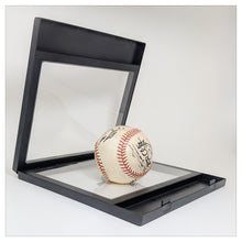"Label Area - 7.9"" x 7.1"" - 3D Floating Frame 2-Sided Display Case - Black"