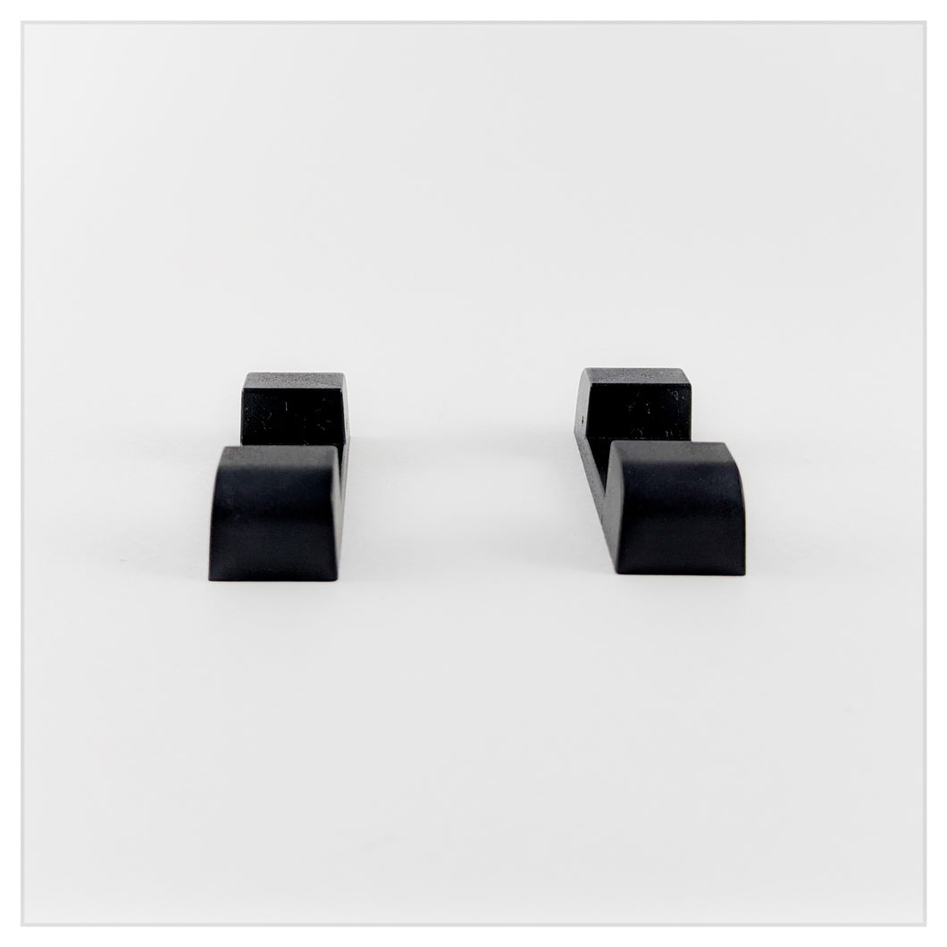 Flat Base Pair - Edge Stand - Black