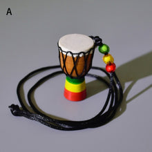 Mini Jambe Drummer For Sale, Djembe Percussion Musical Instrument Necklace African Hand Drum Jewelry Accessries Necklace 7C0145