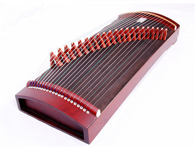Hot Selling Portable Mini Professional Guzheng 90cm Chinese National 21 Strings Musical Instruments Guzheng with Accessories