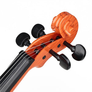 Fashion High Quality Kids Toy Mini Music Violin (Coffee)